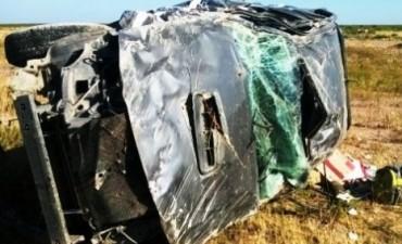 Accidente en ruta nacional 152