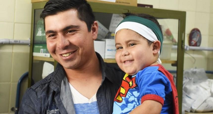 Inédita cirugía de un tumor cerebral a un nene de 3 años