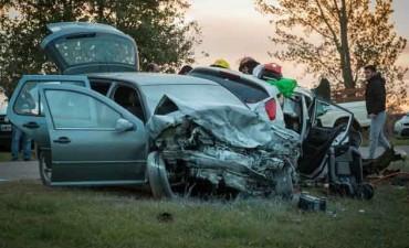 Oriunda de Guatraché sufre grave accidente