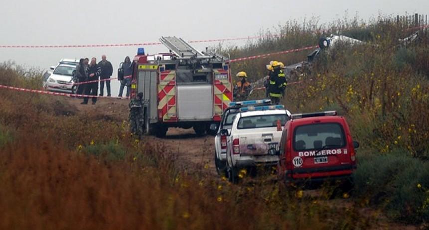 Cinco muertos al caer un avión en el Meridiano V