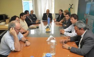 El Gobernador recibió a autoridades de Pampetrol