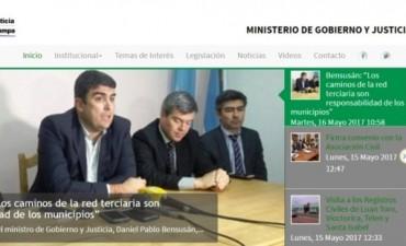 El ministro de Gobierno y Justicia, Daniel Pablo Bensusán