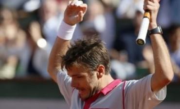 Wawrinka dio la sorpresa ante Djokovic y ganó Roland Garros