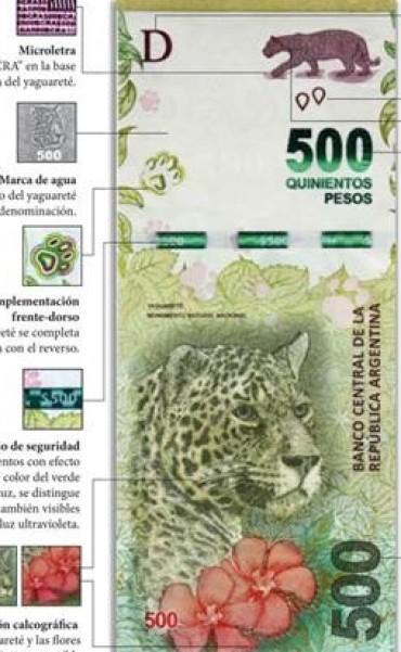 s el primero de la serie de animales autóctonos que pondrá en circulación el BCRA