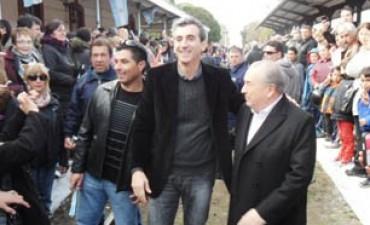 En La Pampa, volvió el tren