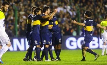 Boca derrotó a Sarmiento