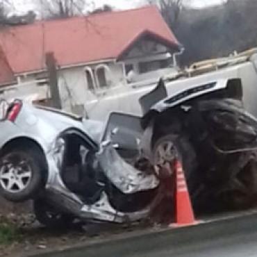Chocó contra un árbol en la ruta 152: murió un joven