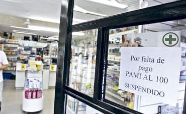 Farmacias restringen la atención de PAMI