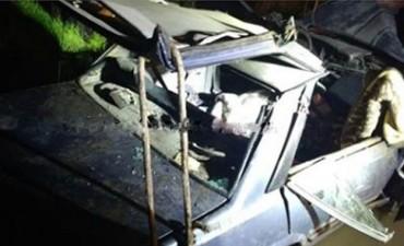 El accidente ocurrió esta madrugada, en el acceso a Huanguelén