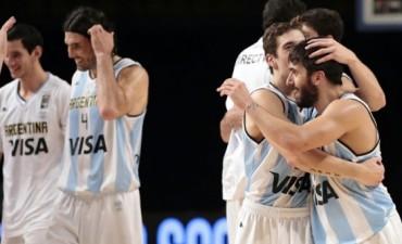 Argentina derrotó a Uruguay en el Preolímpico de básquet