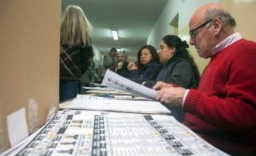 VOTÓ EL 70 % DEL PADRÓN