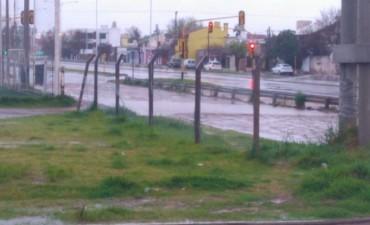 Intensas lluvias en gran parte de La Pampa