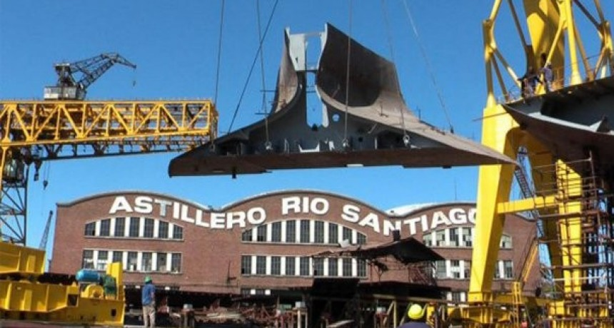 Tensión en Astillero Río Santiago