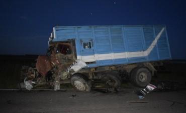 Accidente en ruta 18: Dos heridos