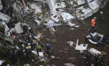 El accidente de Chapecoense: así quedó el avión de la tragedia