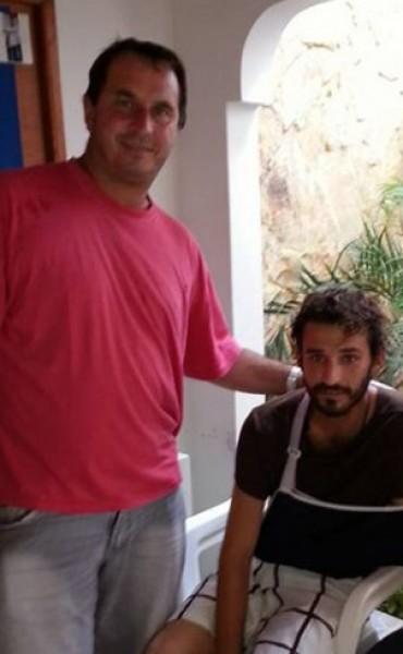 Un joven de General San Martín salvó su vida en Colombia