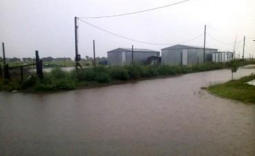 Fuertes lluvias en la zona