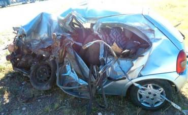 Choque frontal en la Ruta Provincial 20 deja un muerto