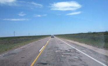 En Mendoza se quejan de una ruta nacional en La Pampa
