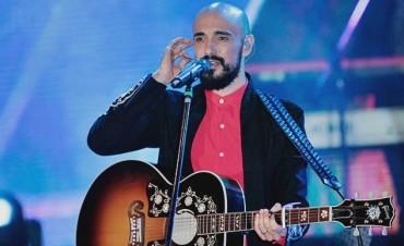 El cantante bahiense había decidido tomarse vacaciones, pero cambió de parecer