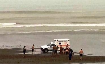 Seis heridos por caída de un rayo en Monte Hermoso