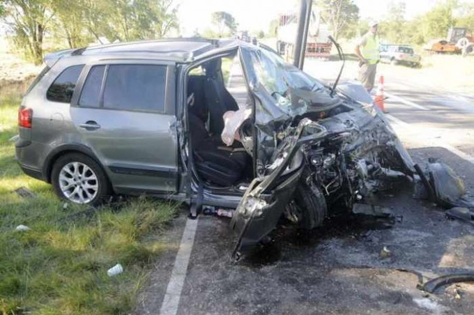 Un choque en la ruta 35 dejó cuatro hospitalizados