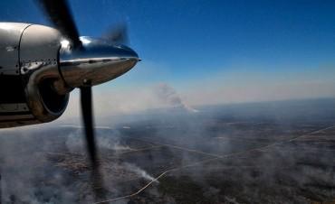 La tormenta disparó 9 incendios rurales