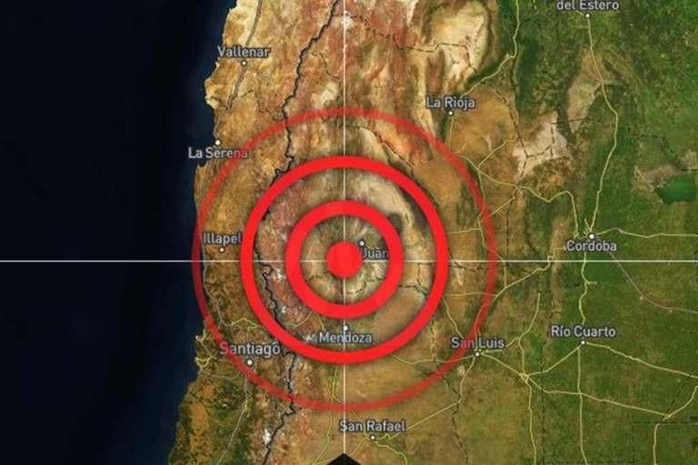 San Juan: se registró un nuevo sismo en el mismo lugar que este lunes a la noche