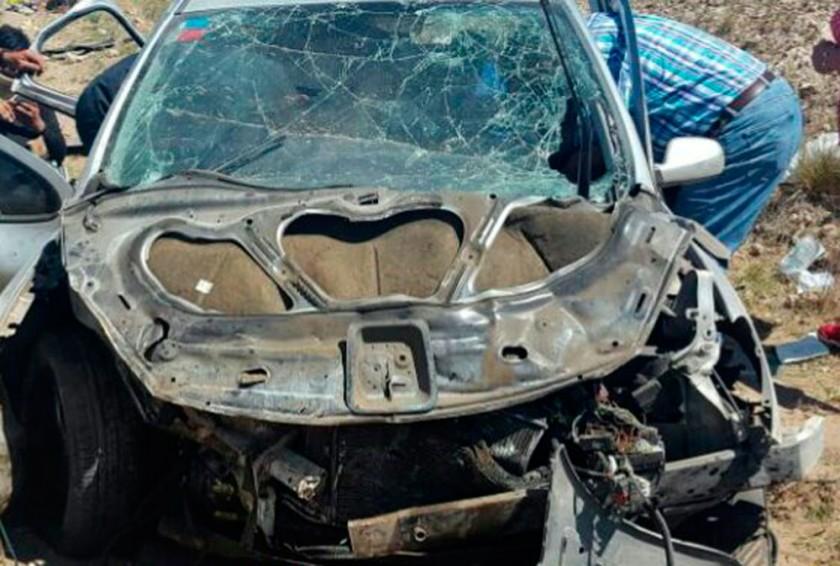 El vuelco de un Peugeot 307 dejó el saldo de dos personas fallecidas.