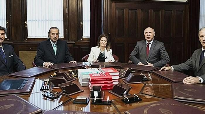 Los jueces de la Corte Suprema revelaron sus sueldos