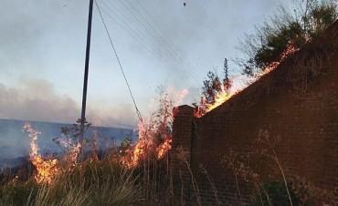 Incendios en Sierra de la Ventana