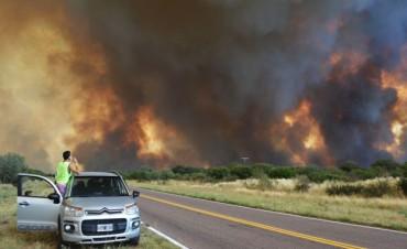 Hay 8 incendios en la provincia