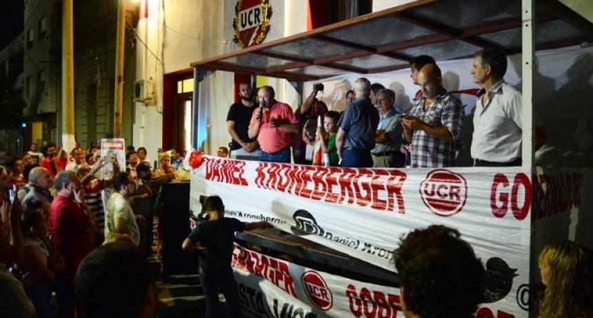 Amplio triunfo de Kroneberger y duro revés al candidato de Macri