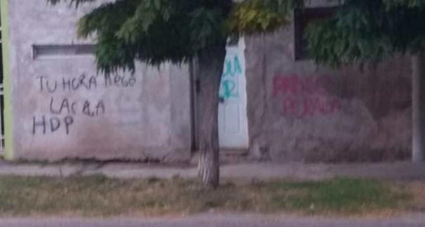 Saavedra: Escracharon el domicilio de Pablo Peralta quien fue internado en el Hospital local