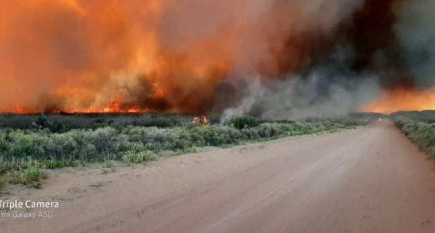 Defensa Civil y bomberos sofocaron incendios ocasionados por tormenta