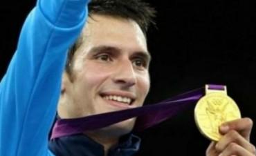 Campeón olímpico argentino se fracturó la tibia en pleno combate