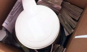 El dueño de un súper chino le entregó 100 mil pesos para que le apruebe la ampliación de su local