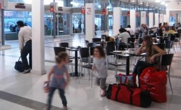 Menores de 6 años no podrán viajar solos