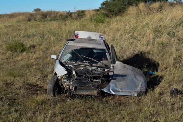 Un joven de 21 años volcó en la ruta provincial 1