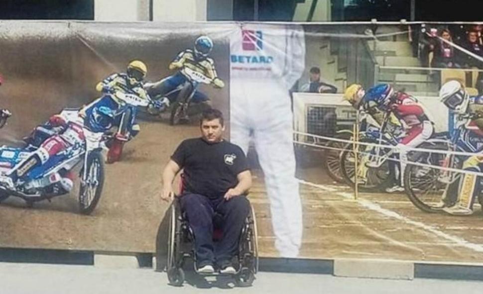 El carhuense no pierde las esperanzas de volver a caminar tras el grave accidente sufrido en 2015.