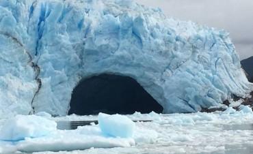 Comenzó la ruptura más grande del siglo del Glaciar Perito Moreno