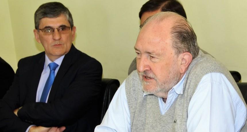 El intendente de Ingeniero Luiggi, Oscar Zanoli