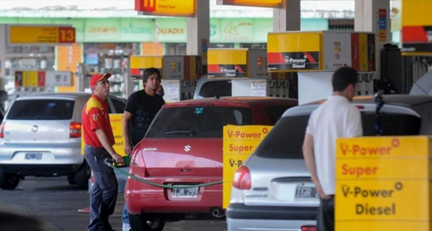 Fuerte aumento de combustibles