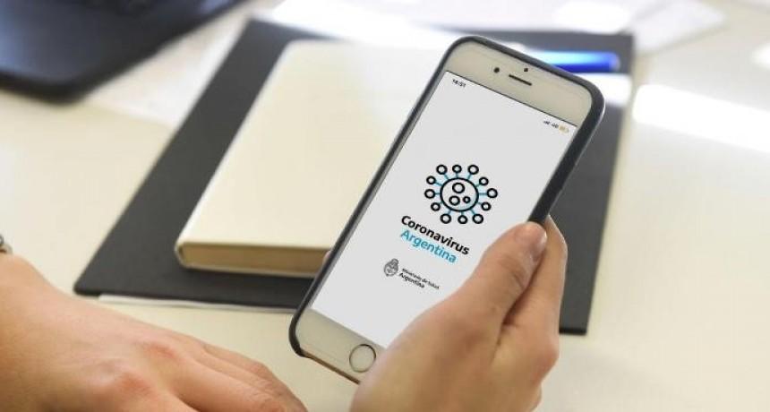 Hubo más de 500 mil autotest en el primer día de la app del coronavirus