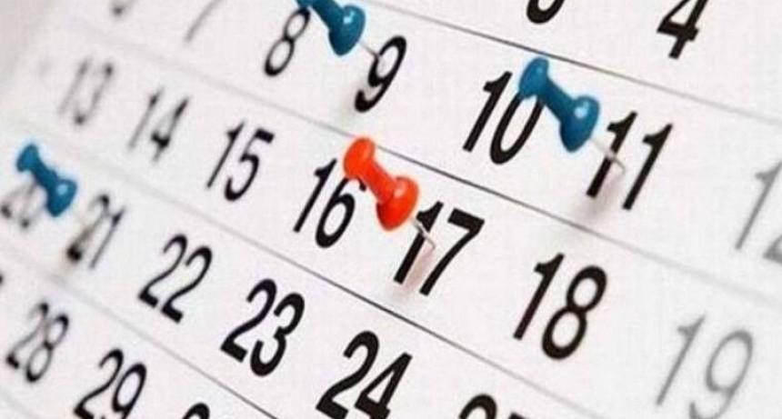 El lunes 30 de marzo no será feriado