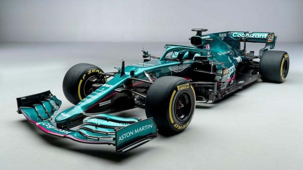 ¡Bienvenido Aston Martin! El arma de Sebastian Vettel