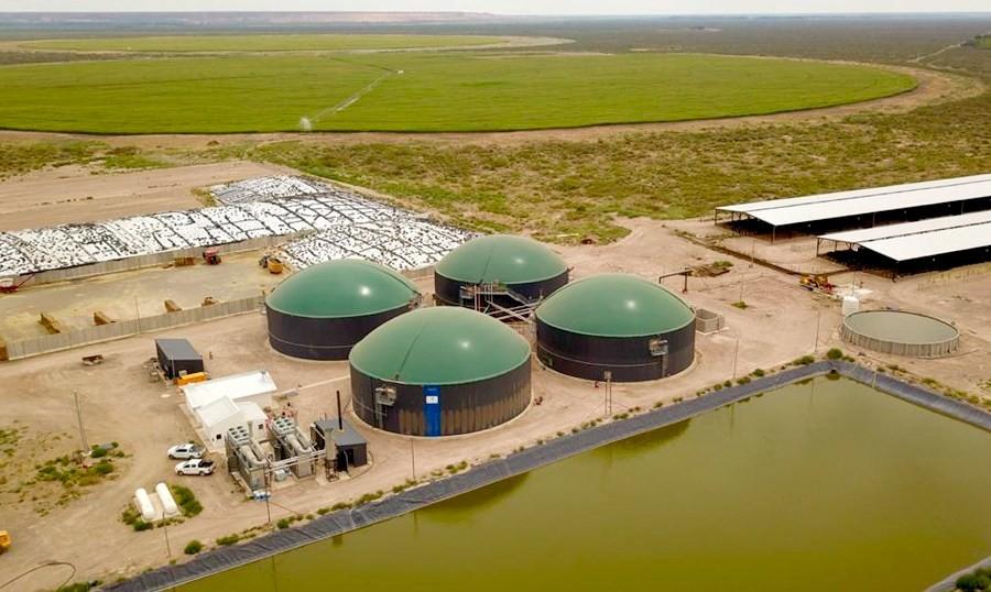La planta de biogás ya inyecta energía al sistema nacional