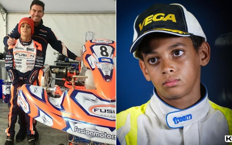 McLaren fichó a Ugo, de 13 años, ¿otro Lewis?