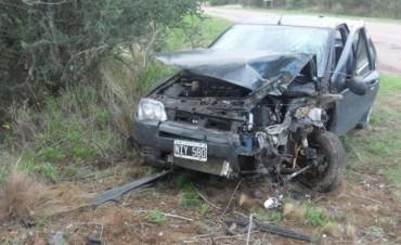ACCIDENTE LLEGANDO A LA LAGUNA DE GUATRACHE