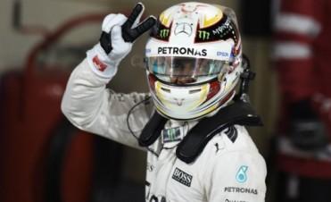 Otra pole position para Lewis Hamilton, esta vez en Bahrein